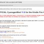 【Kindle Fire HD】オフィシャル版 CyanogenMod11.0 リリースキター!! 【カスタムROM】
